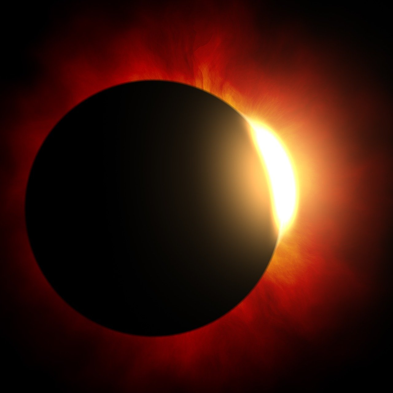 Солнечные и лунные затмения в 2022 году