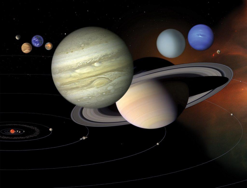 Saturn and Jupiter 1024x780