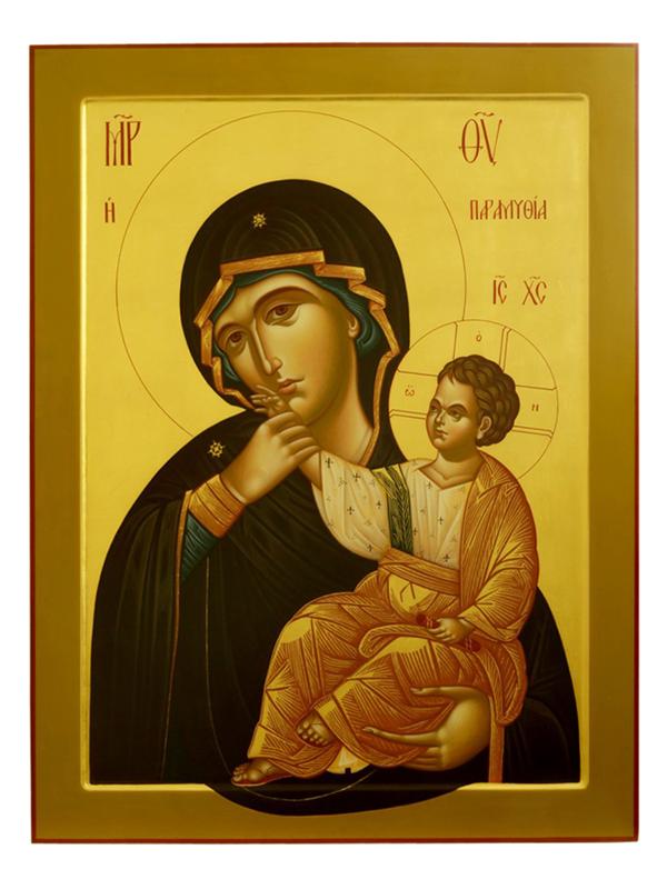 """3 февраля - празднование иконы """"Отрада"""" или """"Утешение"""""""