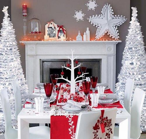 christmas dining room design 0