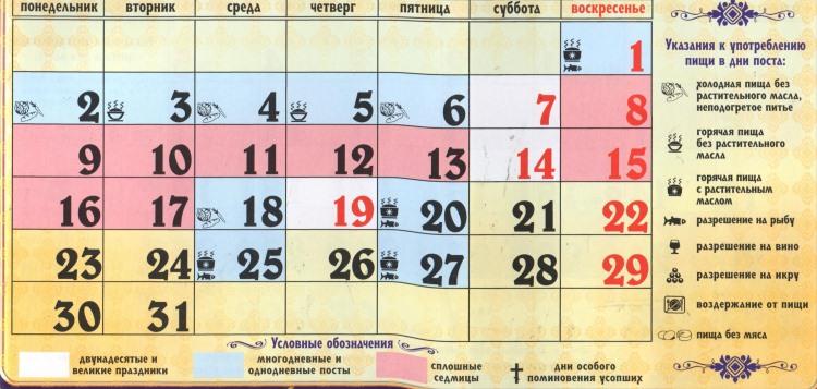 Православные церковные праздники в январе 2019 года в 2019 году