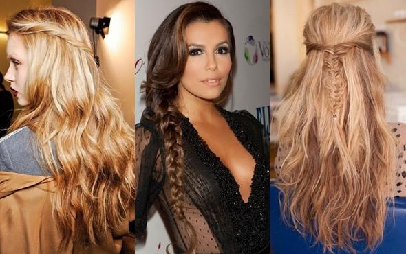 Для коротких средних и длинных волос