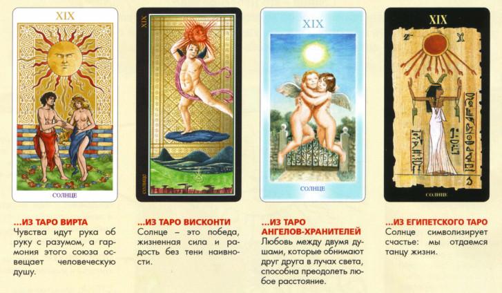 Значение и толкование карт Таро при гадании