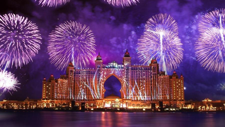 Новый год 2018 в ОАЭ