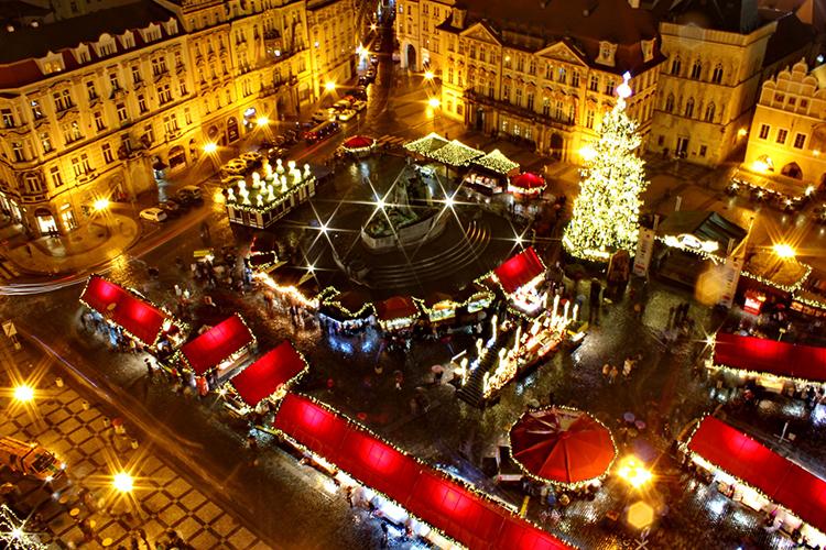 Новый год 2018 в Чехии