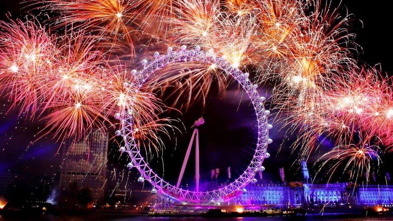Новый год 2018 в Лондоне