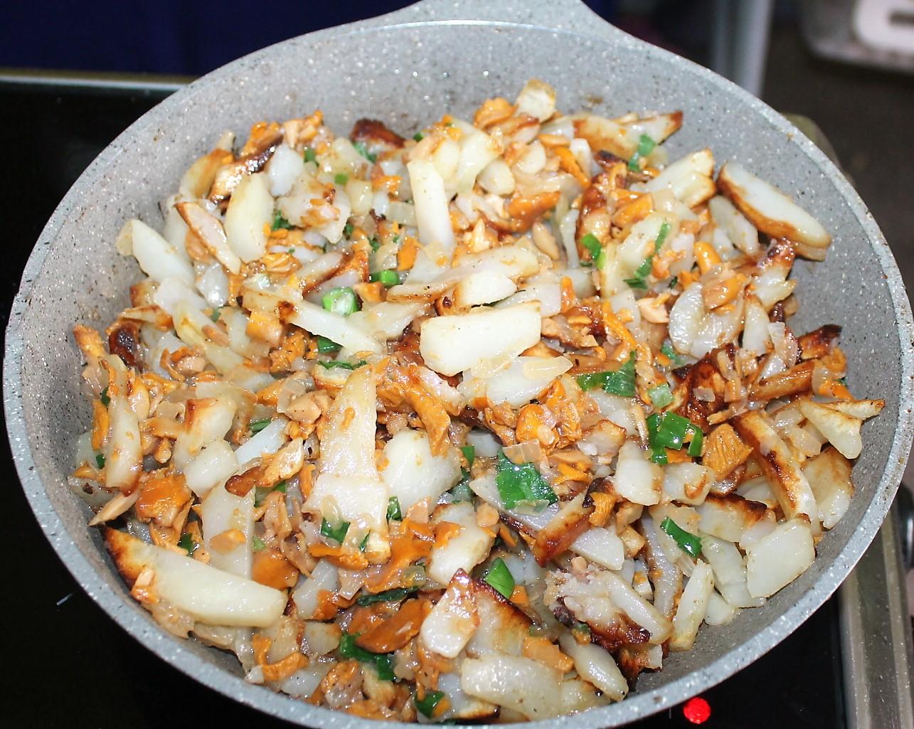 Рецепты салата лисичка пошагово