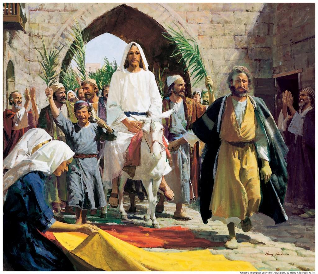 vhod gospodeny v ierusalim