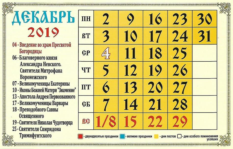 Церковные праздники в августе 2019 года: календарь рекомендации