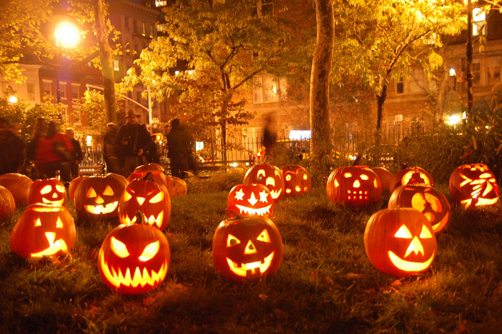 Хеллоуин - время разгула нечисти