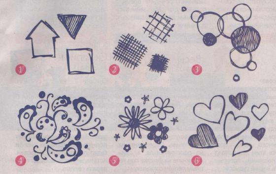 что означают рисунки: